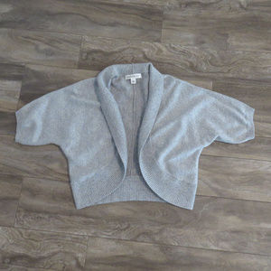 Banana Republic Gray Short Sleeve Cardigan Sz L